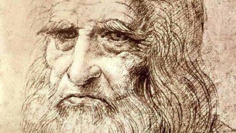 Leonardo-self-portrait