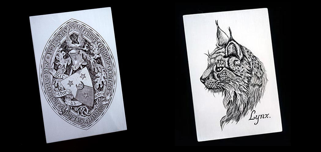 hand-engraving-coat-of-arms-lynx-wide