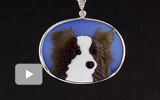 pet-portrait-gemstone-cameo-pendant-video
