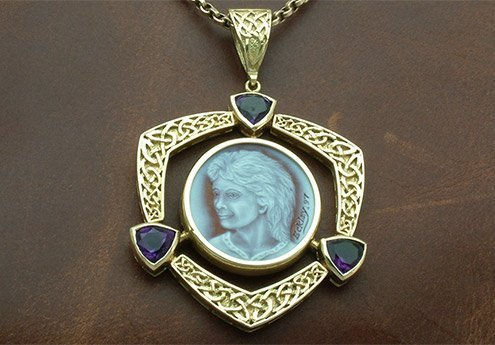 Celtic-Knot-Amethyst-Cameo-Necklace