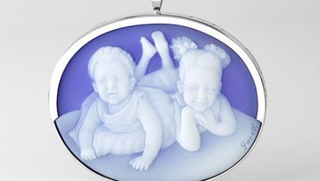 gemstone-blue-ameo-of-two-grand-daughters