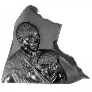 mother-baby-portrait-cameo-black-onyx