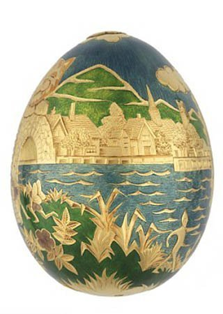 Cadburys Calamity gold egg