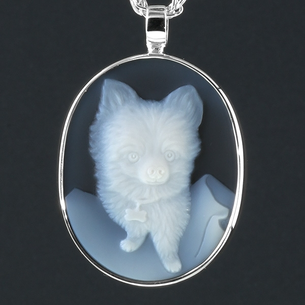 pet-memorial-jewel-cameo-pomeranian-dog-blk-sq