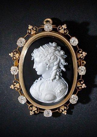 antique-cameo-setting-diamond-enamel