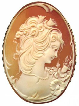 carnelian shell cameo