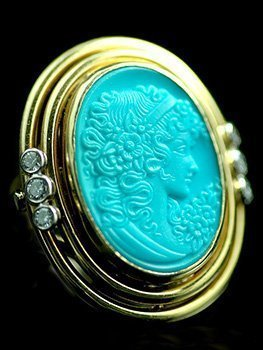 turquoise-cameo-ring
