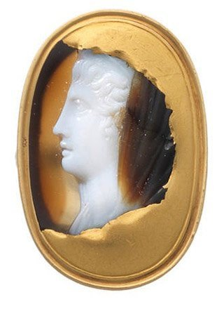 Roman Cameo of a Lady