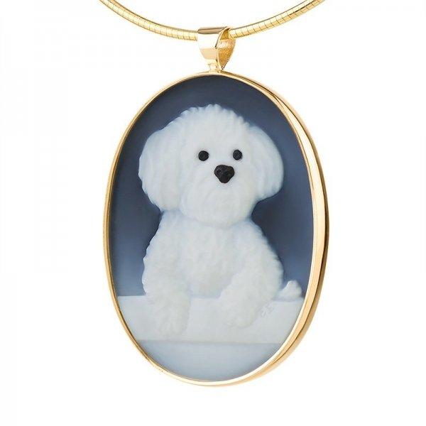 pet-portrait-memorial-maltese-dog-