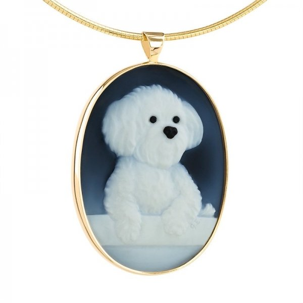 pet-portrait-memorial-maltese-dog