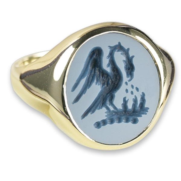 Family-crest-signet-ring