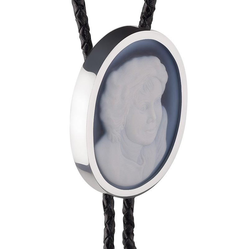 bolo-tie-cameo-for-man-detail-white-