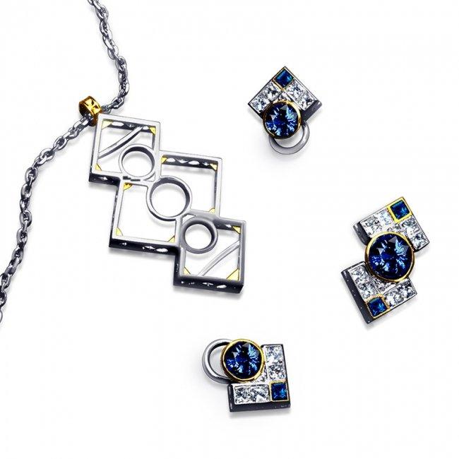 bow-tie-sapphire-diamond-set-clip-earrings-brooch-pin
