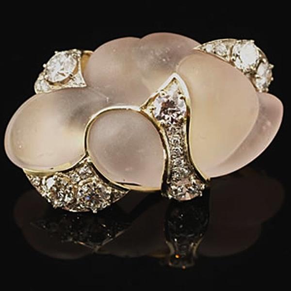 diamond-morganite-brooch