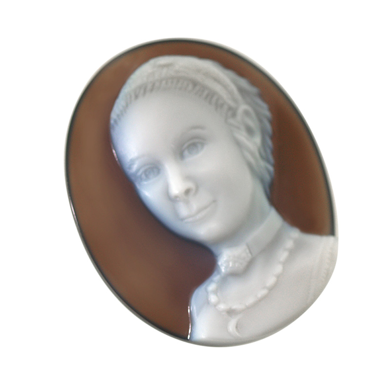 white-brown-cameo-portrait-sq