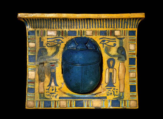 Sesonchis II Pectoral Lapis scarab-feat