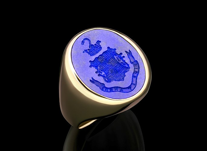 lapis-lazuli-ring-crest-motto-shield-feat