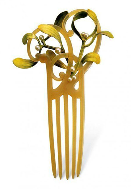 lalique-hair-comb-lily-of-the-valley