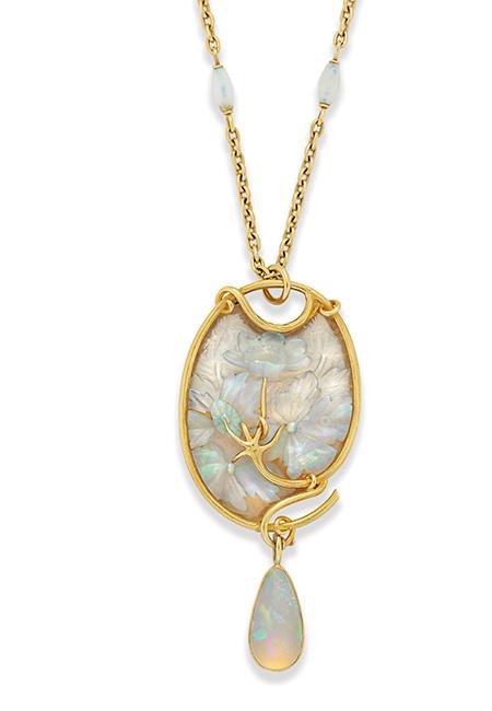 lalique-opal-necklace-lilies-white